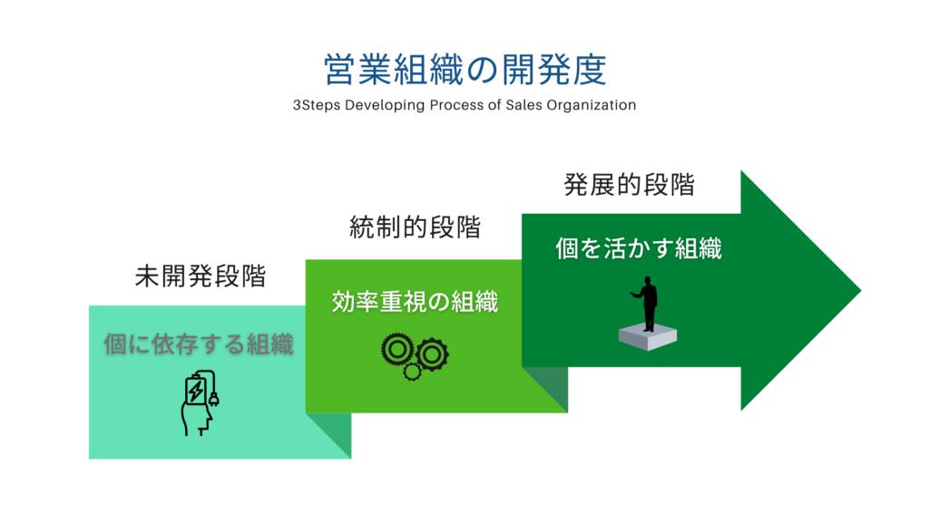セールスキャリ開発 組織の開発度